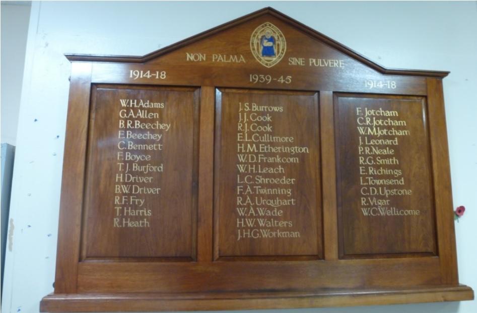 Kathleen Lady Berkeleys School War Memorial