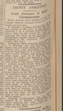 lgw carter chatham roachester and gillingham news june 16 1939