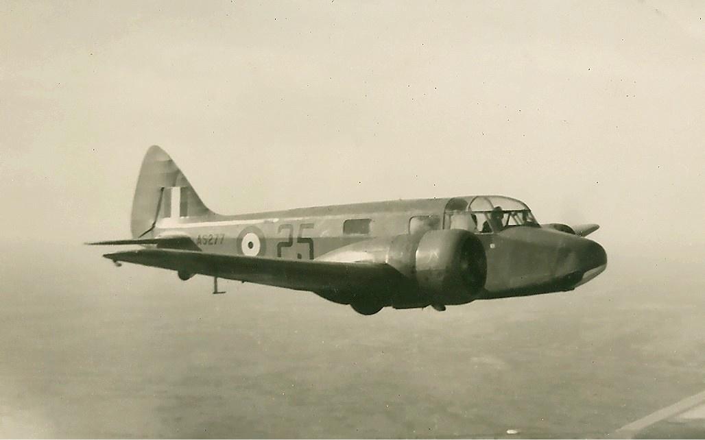 RAF_Airspeed_AS_10_Oxford_II_Brown