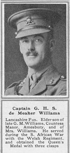 Capt GHS de M Williams the Sphere June 24 1916
