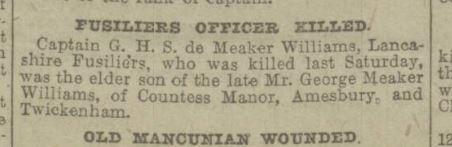 Manchester Evening News Fri May 19 1916