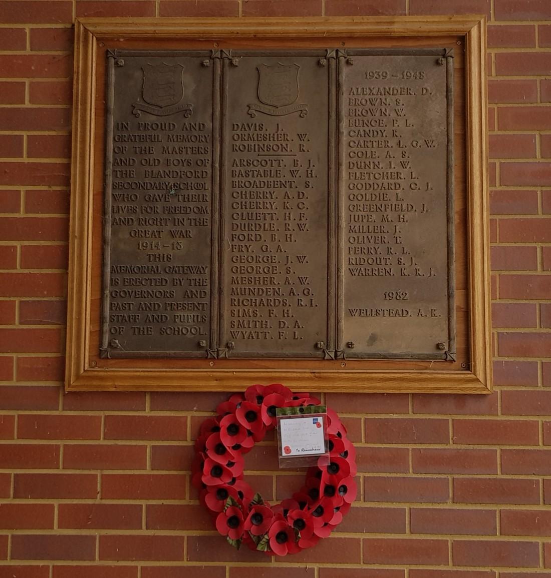modern memorial