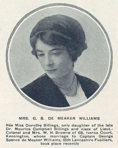 Mrs Williams the Tatler Feb 16 1916