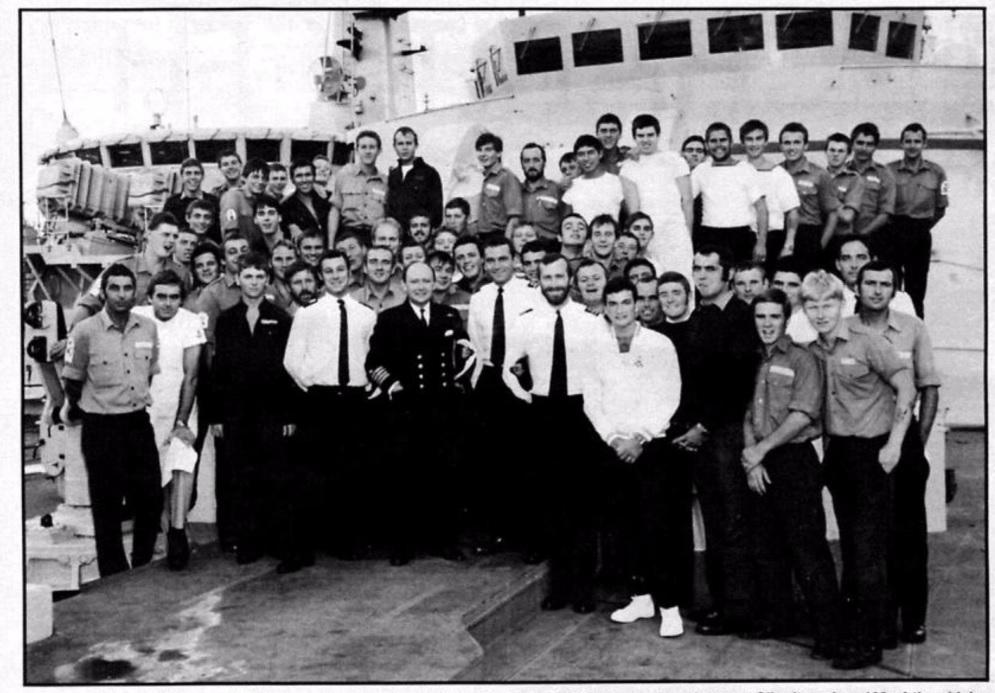 HMS Sheffield 1982
