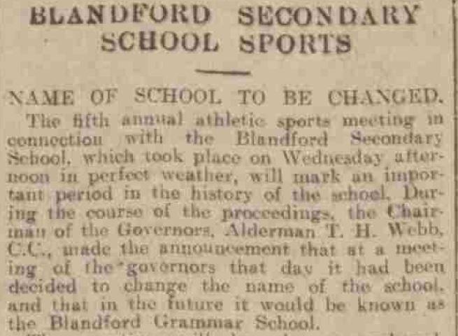 school sports 1930