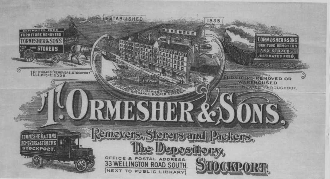 T ormesher and sons ad