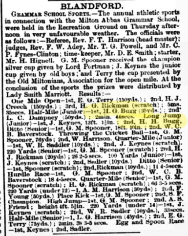 sports 1899